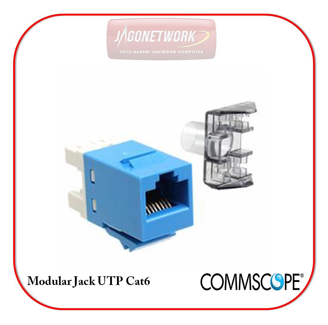 Jual Modular Jack Cat6 Commscope Surabaya